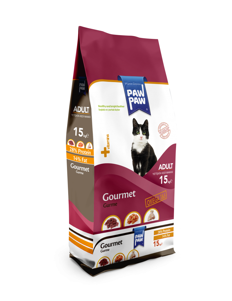 Paw Paw Gourmet Adult Cat Food